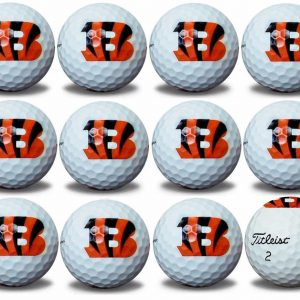 Bengals  Refinished Titleist ProV1 Golf Balls
