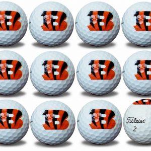 Bengals  Refinished Titleist ProV1 Golf Balls