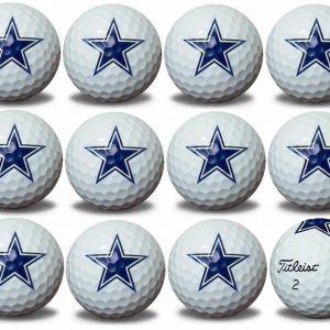 Cowboys Refinished Titleist ProV1 Golf Balls