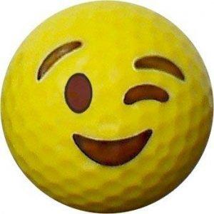 Emoji #10 Wink Golf Balls 12pk
