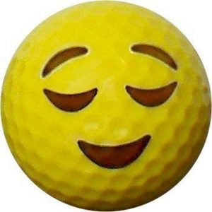 Emoji #12 Sleeping Golf Balls 12pk