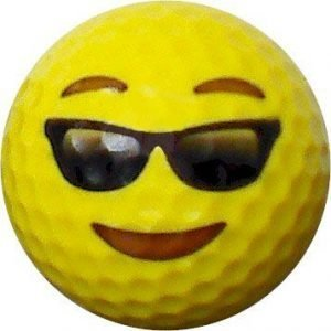 Emoji #13 Sunglasses Golf Balls 12pk