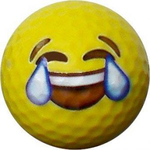Emoji #2 Crying Golf Balls 12pk