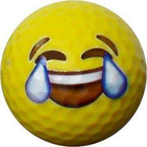 Emoji #2 Crying Golf Balls 12pk