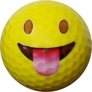 Emoji #4 Tongue Golf Balls 12pk