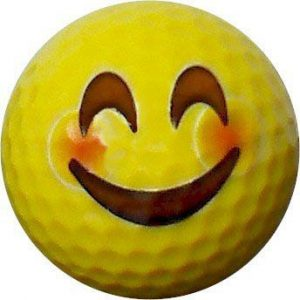 Emoji #7 Blush Golf Balls 12pk