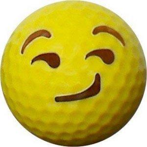 Emoji #9 Sneer Golf Balls 12pk