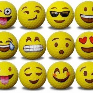 Emoji Golf Balls 12pk
