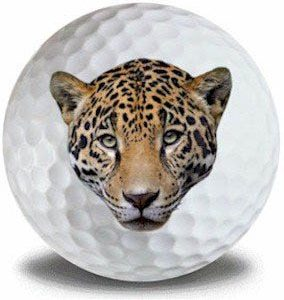 Wild Animal leopard Golf Balls 12pk