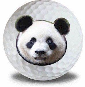 Wild Animal Panda Golf Balls 12pk