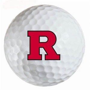 Rutgers  Knights Refinished Titleist ProV1 Golf Balls