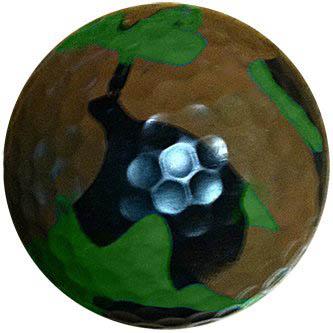 1 Dz. Camouflage Golf Balls