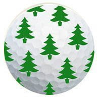 1 Dz. Christmas Tree golf balls