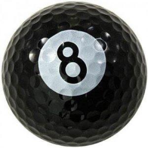 1 Dz. Eight Ball Golf Balls