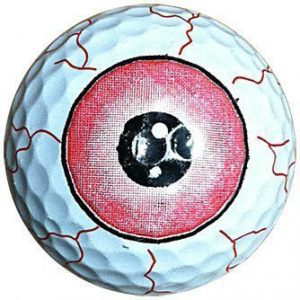 1 Dz. Eye Ball Golf Balls