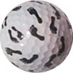 1 Dz. Foot Print Golf Balls