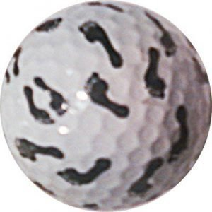 1 Dz. Foot Print Golf Balls