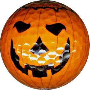 1 Dz. Jack-O-Lantern Golf Balls