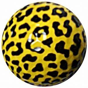 1 Dz. Leopard Print Golf Balls