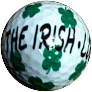 1 Dz. Luck of The Irish Golf Balls
