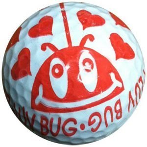1 Dz. luv Bug Golf Balls
