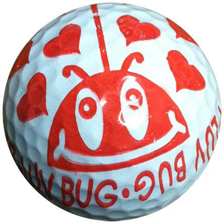 1 Dz. luv Bug Golf Balls