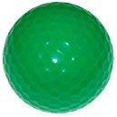1 dz. Neon Green Golf Balls