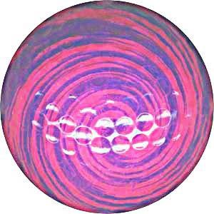 1 Dz. Pink Swirl Golf Balls
