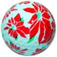 1 Dz. Poinsettia Golf Balls