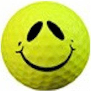 1 Dz. Smile Alien Golf Balls