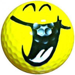 1 Dz. Smile Hilarious Golf Balls