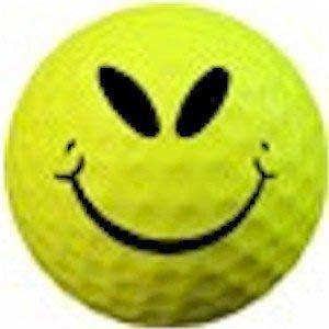 1 Dz. Smile Mean Golf Balls