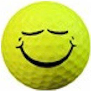 1 Dz. Smile Sleepy Golf Balls