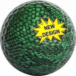 1 Dz. Snake Skin Print Golf Balls