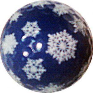1 Dz. Snowflake Pattern Golf Balls