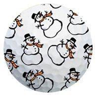 1 Dz. Snowman Golf Balls