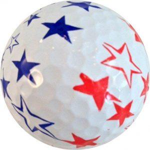 1 Dz. Stars Golf Balls