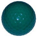 1 dz. Teal Green Golf Balls