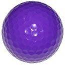 1 dz. Violet Golf Balls
