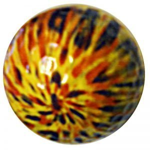 1 Dz. Yellow Tye-Dye Golf Balls
