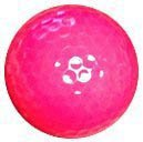 1doz. Hot Pink Golf Ball