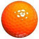 1dz. Neon Orange Golf Balls