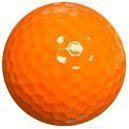1dz. Orange Golf Balls