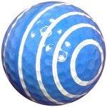 1dz. Spiral Print Golf Balls