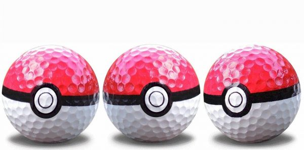 3 pack of Go Ball Golf Balls