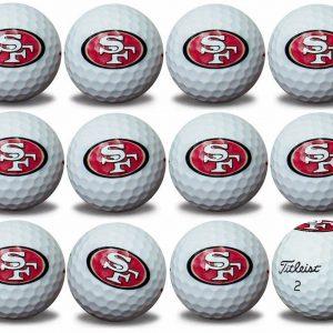 49ers Refinished Titleist ProV1 Golf Balls