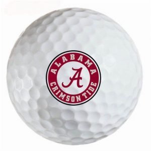 Alabama  Crimson Tide Refinished Titleist ProV1 Golf Balls
