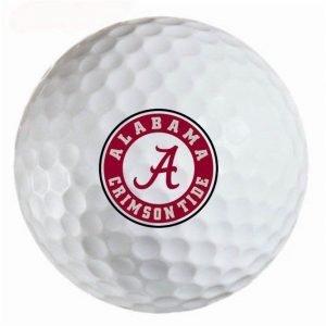 Alabama  Crimson Tide Refinished Titleist ProV1 Golf Balls