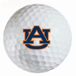 Auburn  Tigers  Refinished Titleist ProV1 Golf Balls