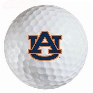 Auburn  Tigers  Refinished Titleist ProV1 Golf Balls